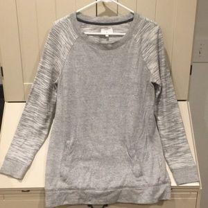 Lou & Grey Shades of Gray Sweatshirt